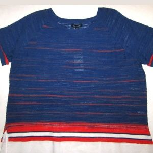 🆕 Tommy Hilfiger Plus 0X Sweater Short Sleeved